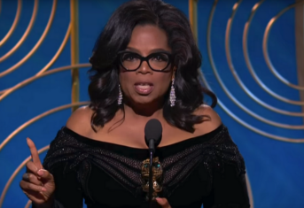 Oprah's krachtige speech